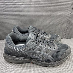 Mens Sz 14 Black Asics Gel Contend 5 Running Shoes